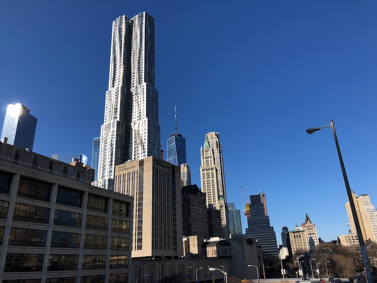 Skyscraper 8 Spruce Street